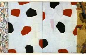 Jasper Johns Untitled 1972 and Duchamp's Bride