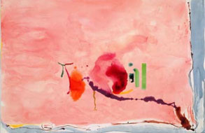 Frankenthaler at MOCA, North Miami: Worlds Unto Themselves on Paper