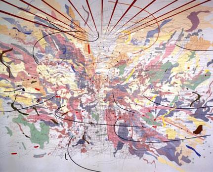 Julie Mehretu Artist's Dynamic