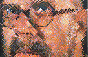 Chuck Close Prints at Miami Art Museum: Close Encounter