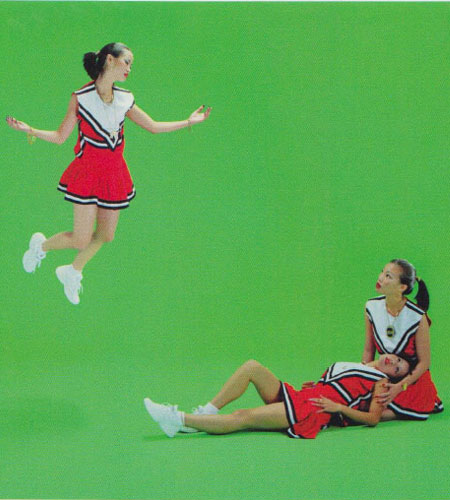 "Luis Gispert's ""Cheerleader Series,"" Miami Dade Community College, 2003"