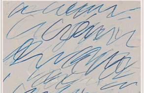 """Twombly's Eloquent Voice"" (Review of show at Hirschl & Adler Modern)"