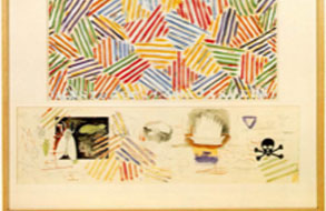 Jasper Johns Drawings 1970-1980 at Leo Castelli