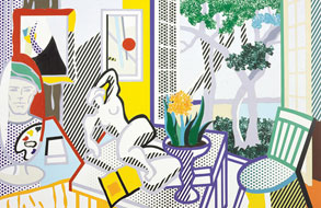 Roy Lichtenstein: Inside/Outside at MOCA, North Miami
