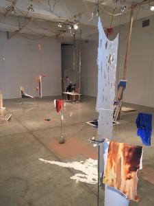 Sarah Sze, Installation, Tanya Bonakdar Gallery, 2015