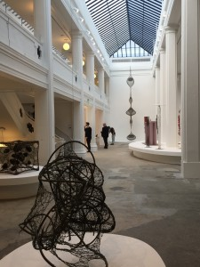 Work by Claire Falkenstein, Louise Bourgeois and Ruth Asawa in the South Gallery.