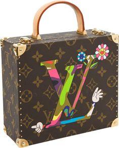 Takashi Murakami Limited Edition Jewelry Box for  Louis Vuitton, 2013.